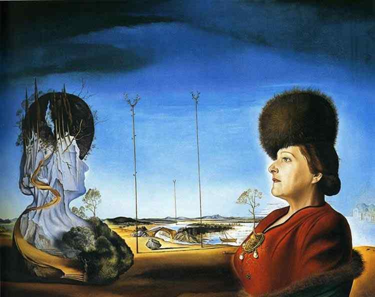 Salvador Dali - Retrato da Sra. Isabel Syler -Tas (Melancolia)