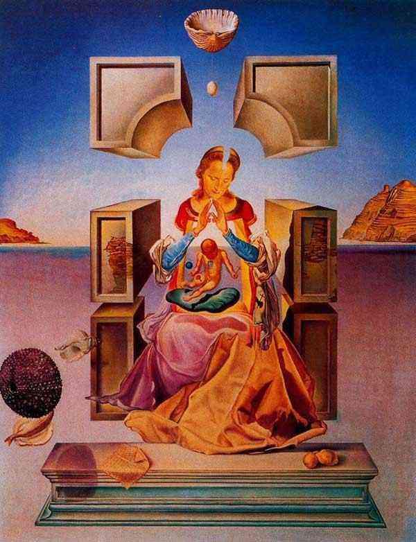 Salvador Dali - A Madona de Port Lligat (Primeira versão)