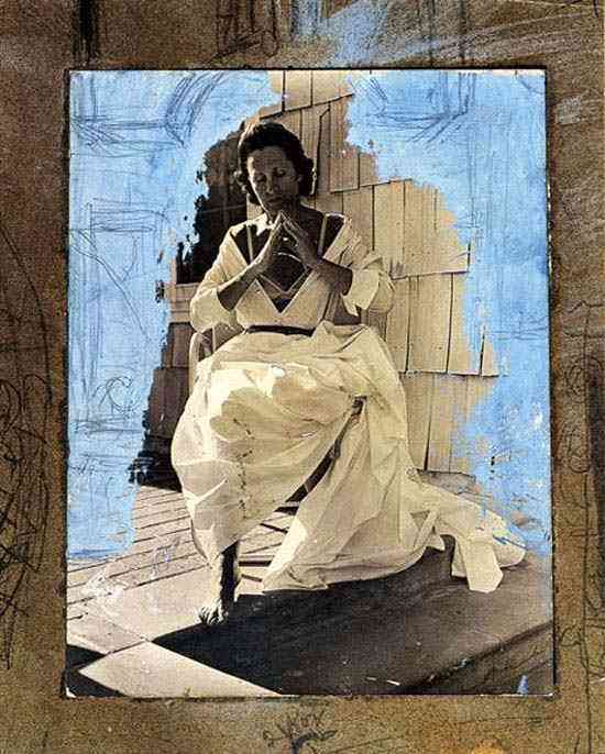 Salvador Dali - Gala como Madonna de Port Lligat