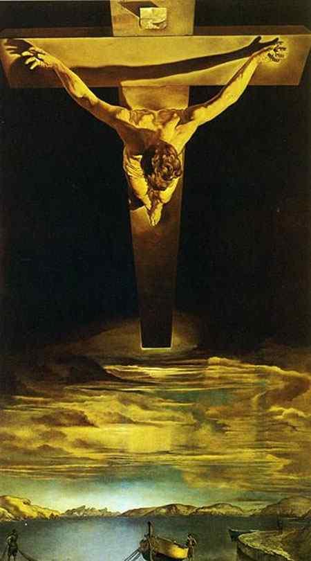Salvador Dali - O Cristo de São João da Cruz