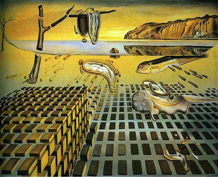 Salvador Dali - A desintegração da persistência da memória
