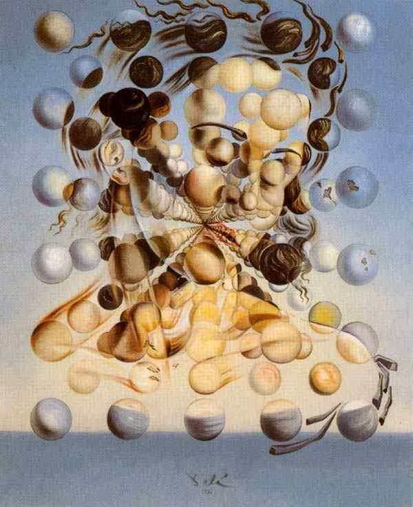 Salvador Dali - Galatea das esferas