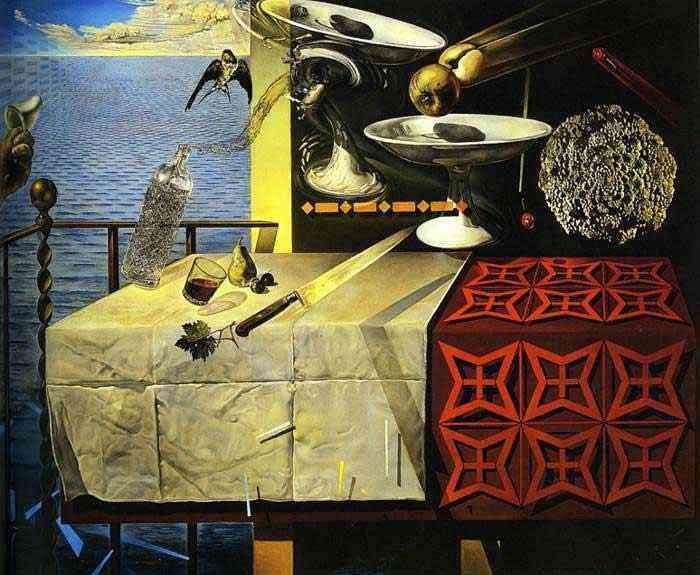 Salvador Dali - Natureza morta viva