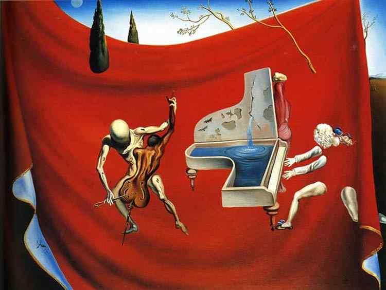 Salvador Dali - Música - A orquestra vermelha - A sétima Arte