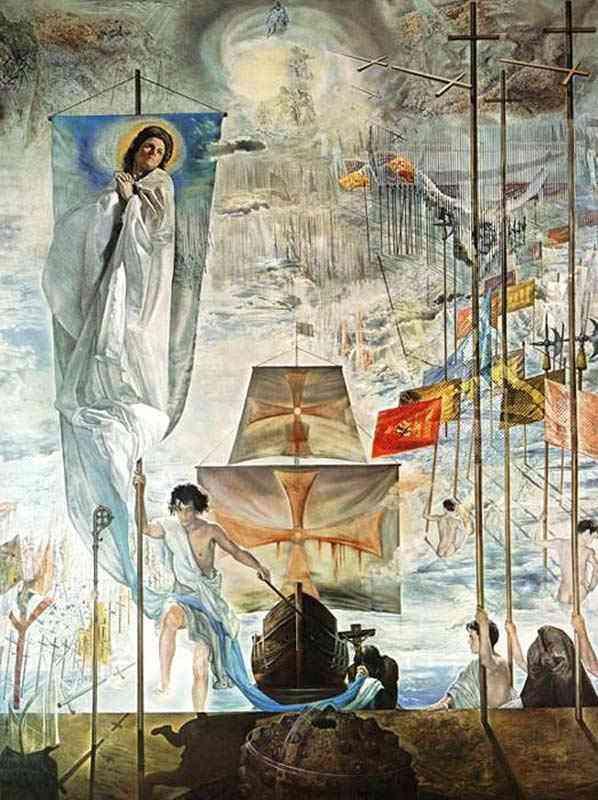 Salvador Dali - A descoberta da América por Cristóvão Colombo