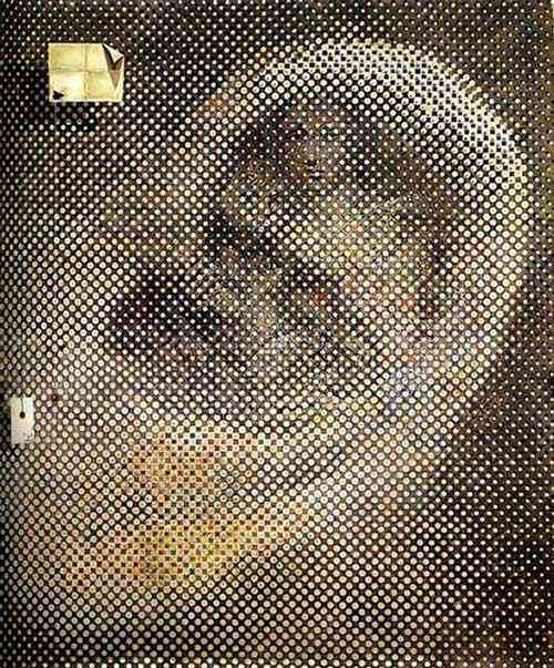 Salvador Dali - A Madonna Sistina