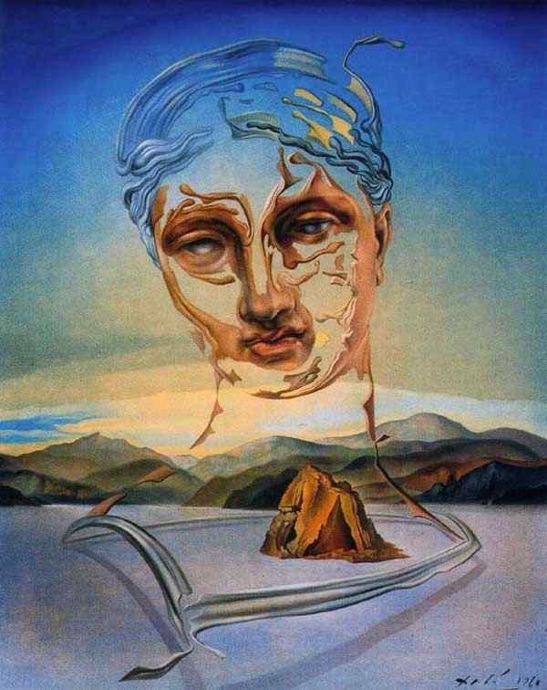 Salvador Dali - Nascimento de uma divindade