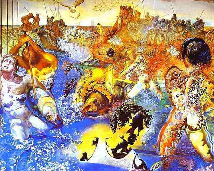 Salvador Dali - A pesca de atum