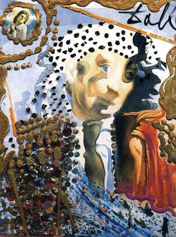 Salvador Dali - O Dali inteiro em uma face