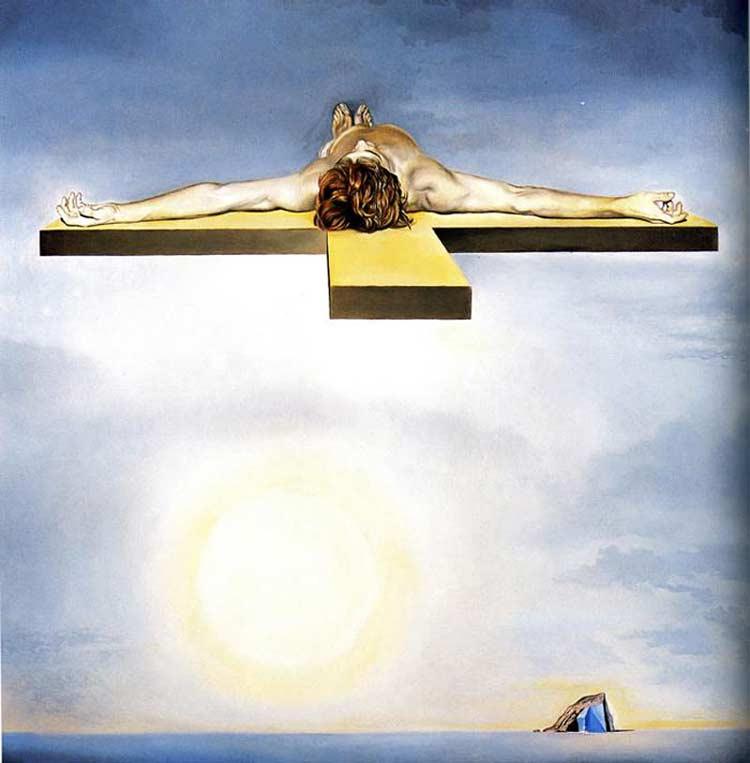 Salvador Dali - Gala do Cristo