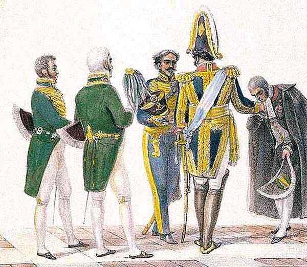Jean_Baptiste Debret - Costumes de Ministros de Estado