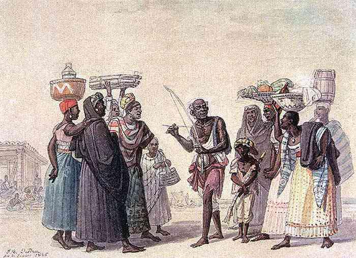 Jean_Baptiste Debret - O velho orfeu africano