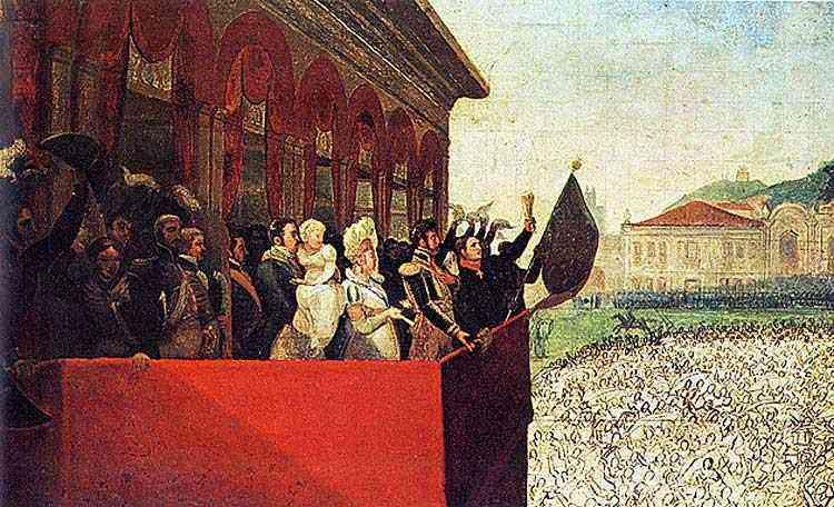 Jean_Baptiste Debret - Aclamação de D. Pedro