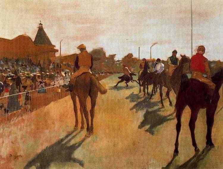 Edgar Degas - O desfile