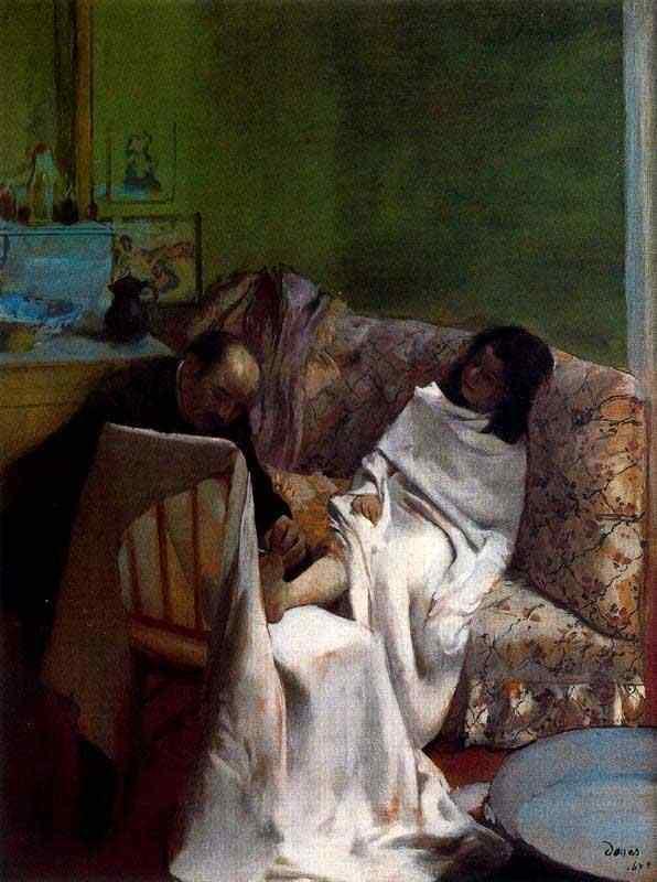 Edgar Degas - O podólogo