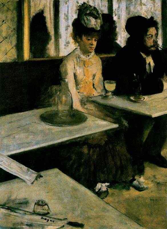 Edgar Degas - Absinto