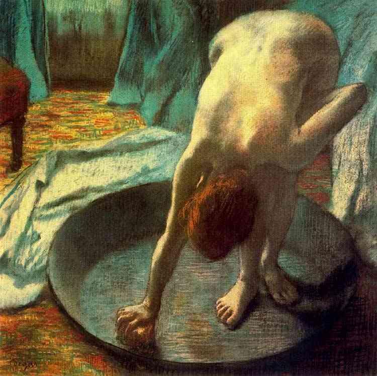 Edgar Degas - A tina