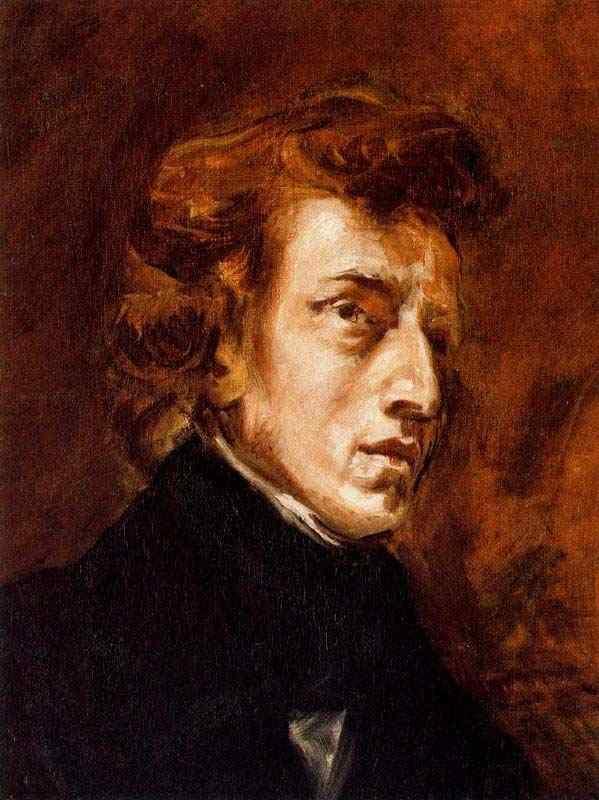 Ferdinand-Victor Eugène Delacroix - Frederic Chopin