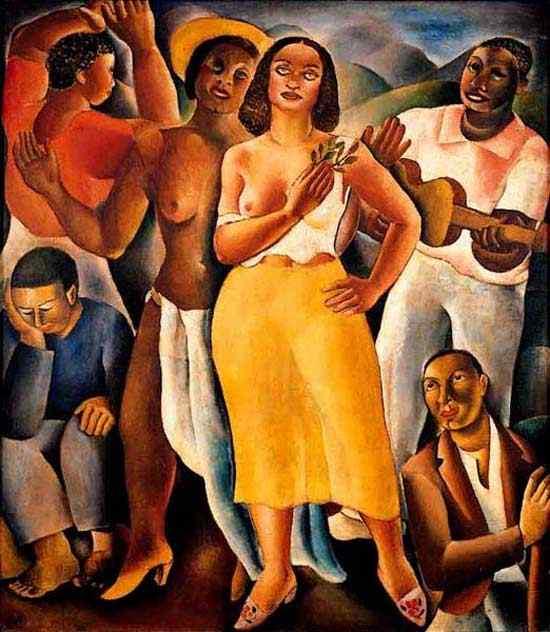 Diego Rivera (Diego María de la Concepción Juan Nepomuceno Estanislao de la Rivera) - Samba