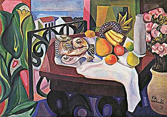 Diego Rivera (Diego María de la Concepción Juan Nepomuceno Estanislao de la Rivera) - Natureza morta