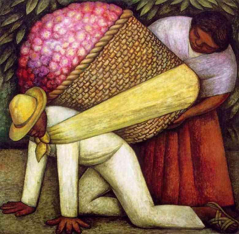 Diego Rodrigues de Silva y Velasquez - Carregador de flores