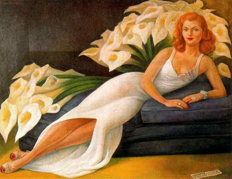Diego Rodrigues de Silva y Velasquez - Retrato de Natasha zakolwa Gelman