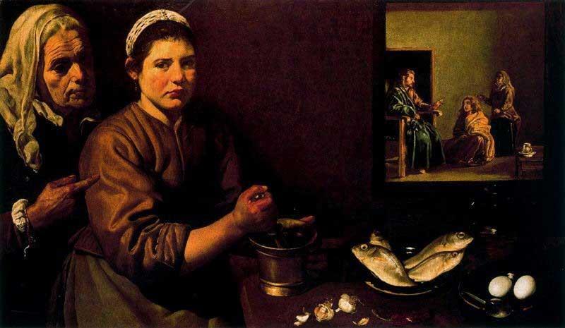 Dileusa Dinis Rodrigues Dila - Cristo na casa de Marta e Maria
