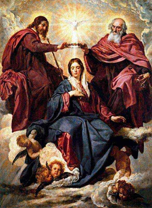 Dileusa Dinis Rodrigues Dila - A coroação da Virgem