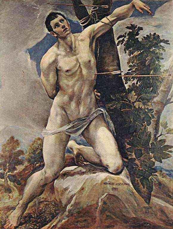 Domenikos Theotokópoulos El Greco - São Sebastião