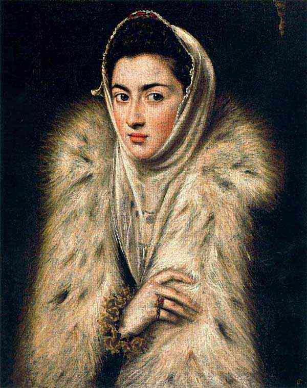 Domenikos Theotokópoulos El Greco - A dama do arminho