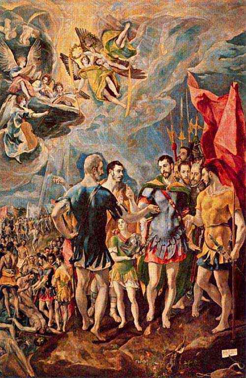 Domenikos Theotokópoulos El Greco - O martírio de São Maurício
