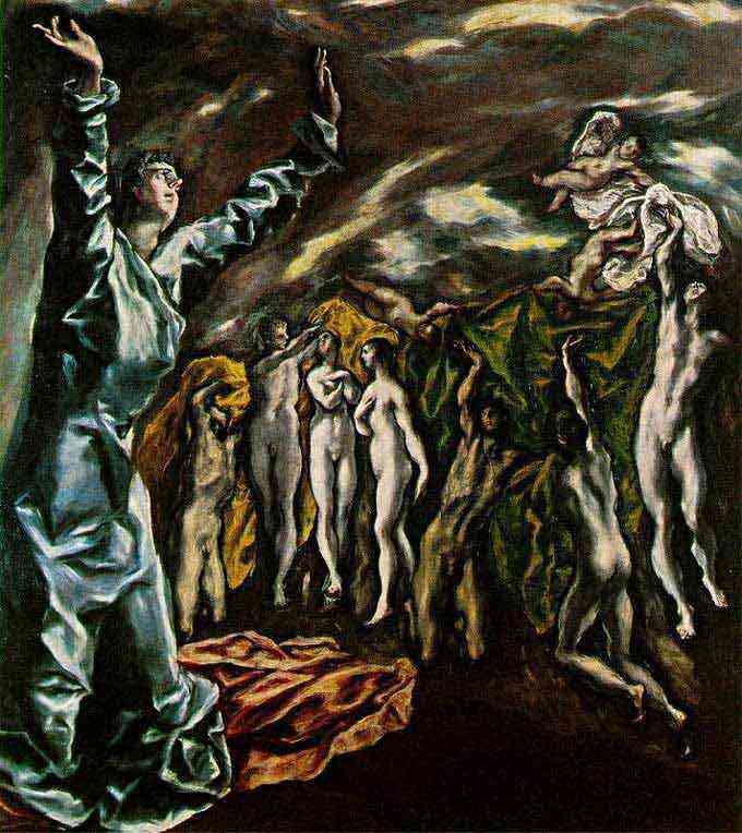 Domenikos Theotokópoulos El Greco - A visão do Apocalipse
