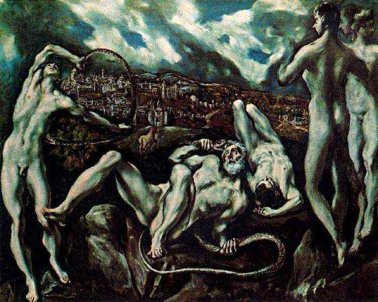 Domenikos Theotokópoulos El Greco - Laotonte