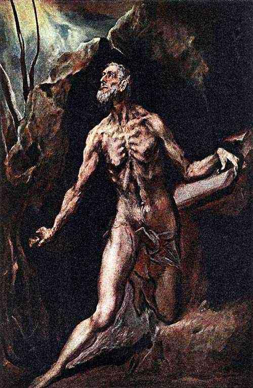 Domenikos Theotokópoulos El Greco - São Jerônimo