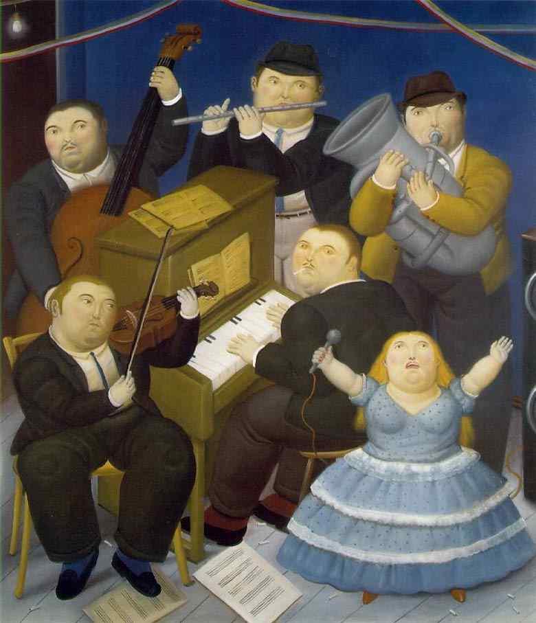 Fernando Botero - Os músicos