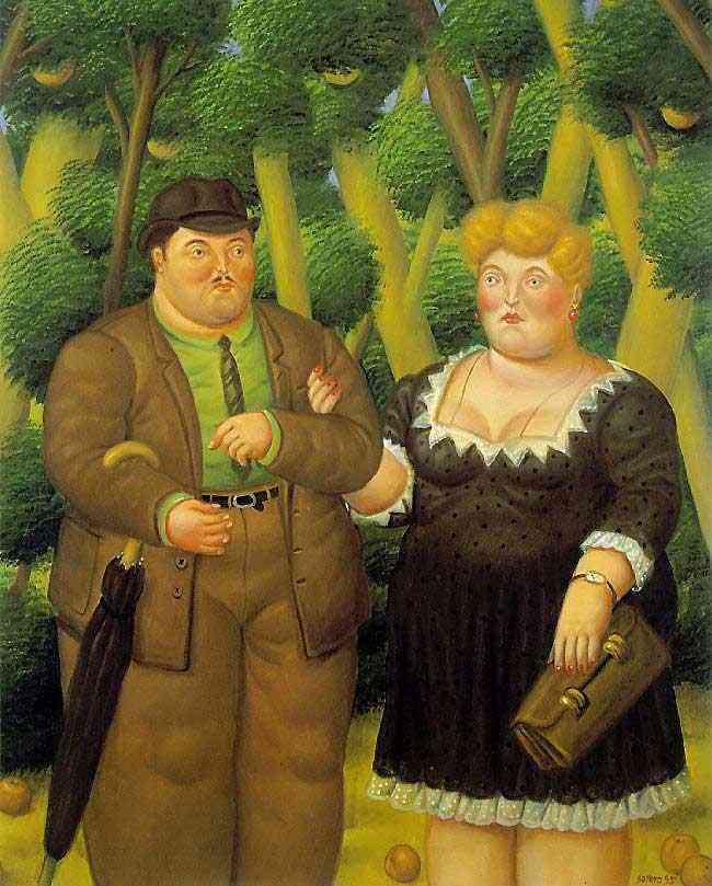 Fernando Botero - O casal