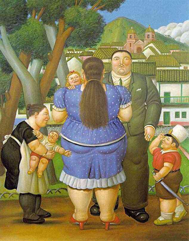 Fernando Botero - A família