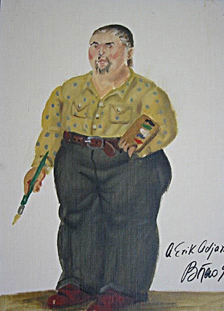 Fernando Botero - Auto-retrato