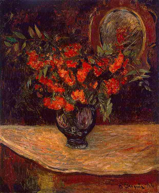 Eugène-Henri-Paul Gauguin - O bouquet