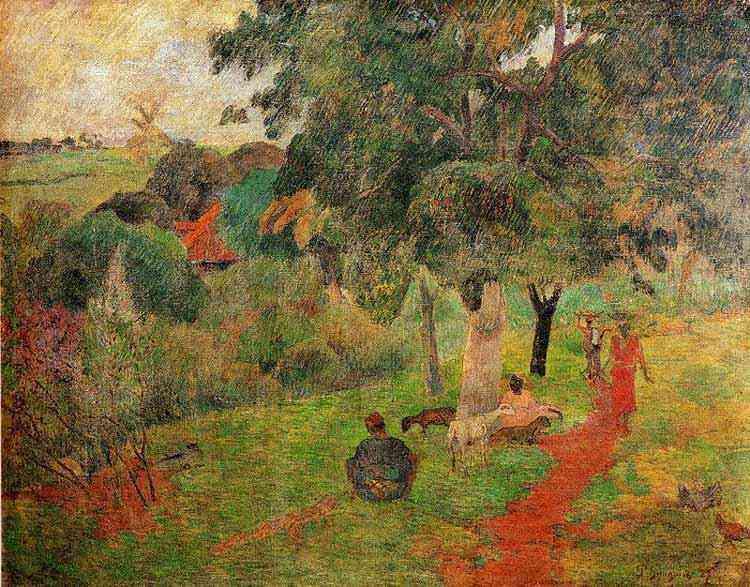 Eugène-Henri-Paul Gauguin - Idas e vindas