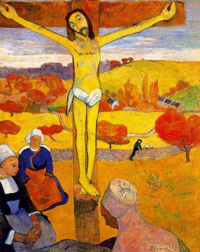 Eugène-Henri-Paul Gauguin - Cristo amarelo