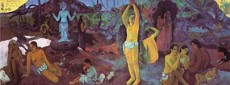 Eugène-Henri-Paul Gauguin - De onde viemos? Quem somos? Para onde vamos?