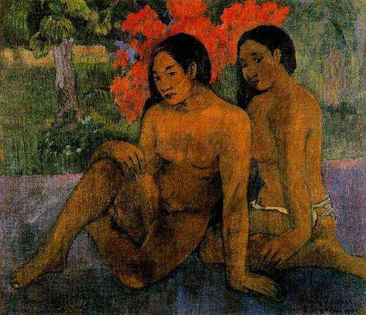 Eugène-Henri-Paul Gauguin - E o ouro de seus corpos