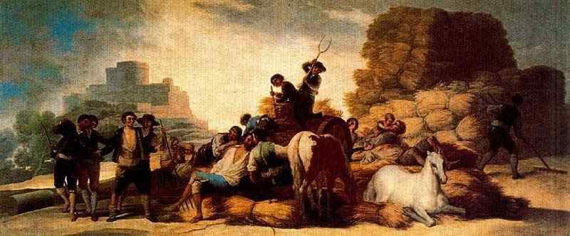 Francisco José de Goya Y Lucientes Goya - A era do verão