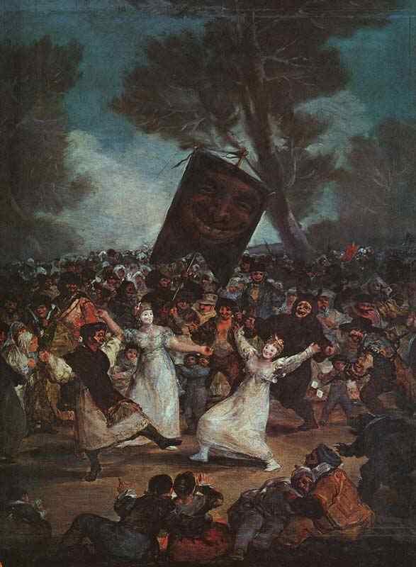 Francisco José de Goya Y Lucientes Goya - O enterro da sardinha
