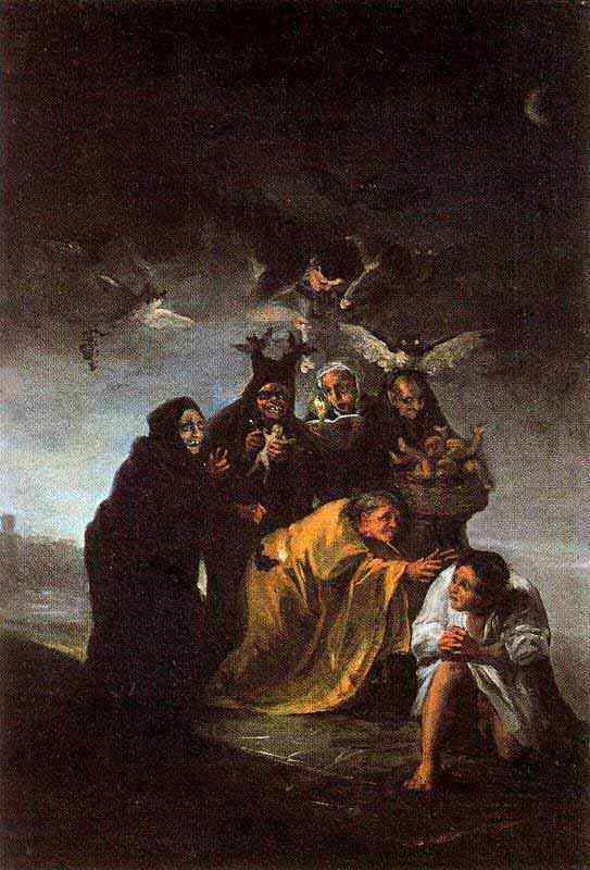 Francisco José de Goya Y Lucientes Goya - O exorcismo