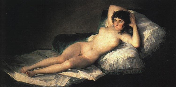 Francisco José de Goya Y Lucientes Goya - Maja nua