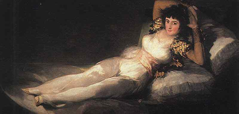 Francisco José de Goya Y Lucientes Goya - Maja vestida