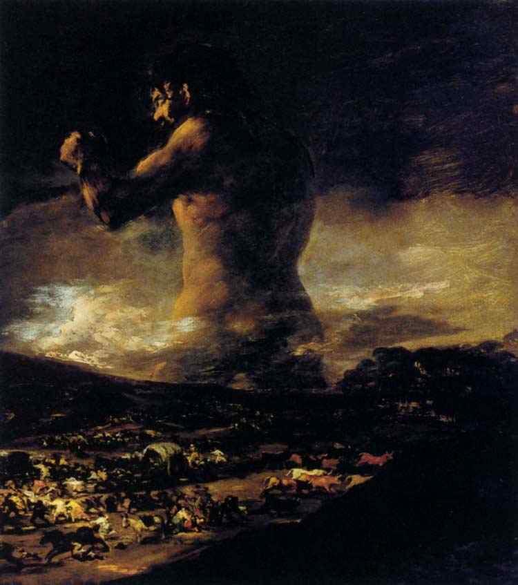 Francisco José de Goya Y Lucientes Goya - O colosso