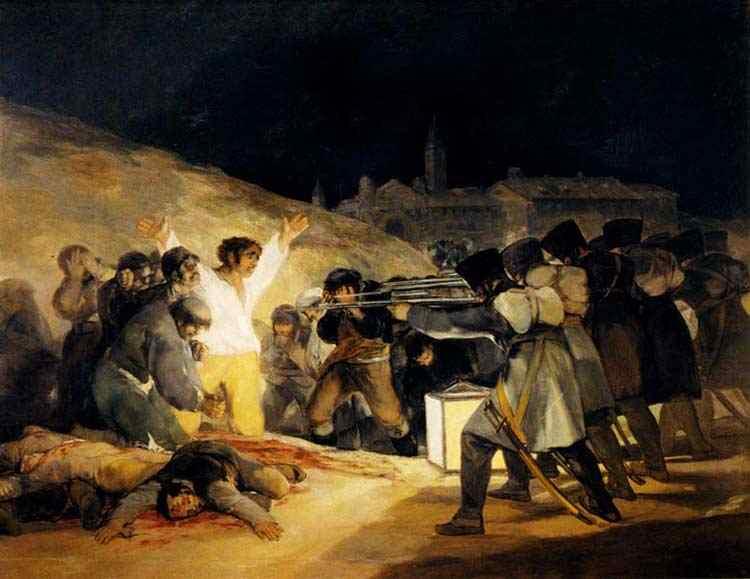 Francisco José de Goya Y Lucientes Goya - 3 de Maio